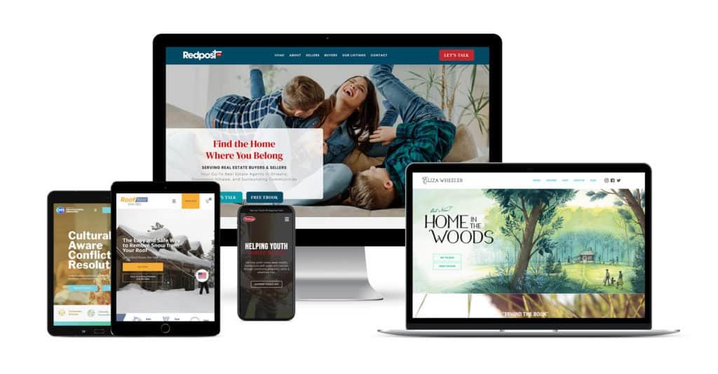 Websites designed by a Storybrand web desiger